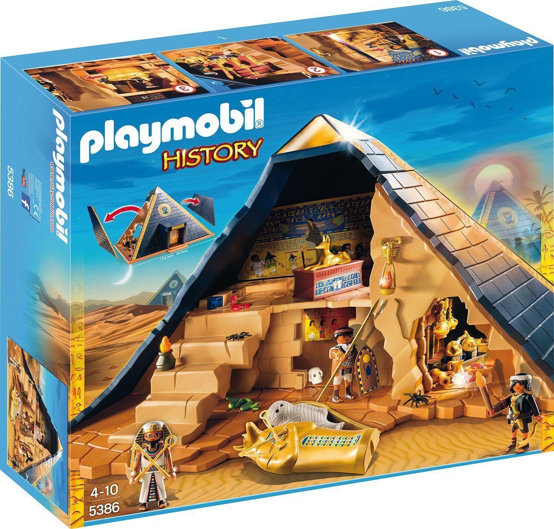 PLAYMOBIL History 5386 Piramide del Faraone Egyptian Pharaohs Pyramid