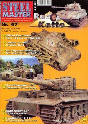 STEELMASTER 47 TIGER I Nr PANZERABTEILUNG 503 Ardennen Königstiger 123 der s