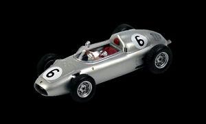 Porsche 718 G. Hill 1960 # 6 4th Solitude Gp 1:43 Modèle True Scale Miniatures