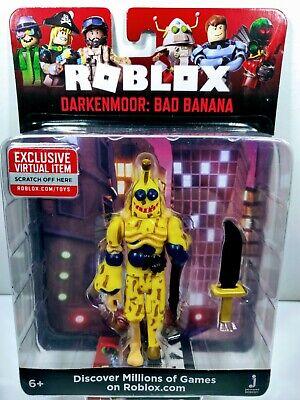 Roblox Darkenmoor Bad Banana 4 Action Figure Rare 2020