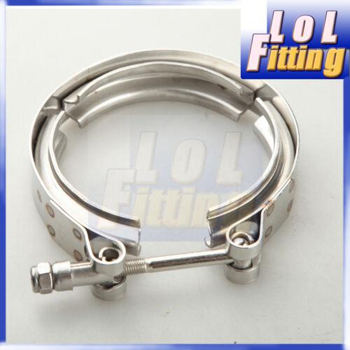 "3/"" Clamp Aluminum Flange V-Band Vband Turbo Intercooler Piping Kit"