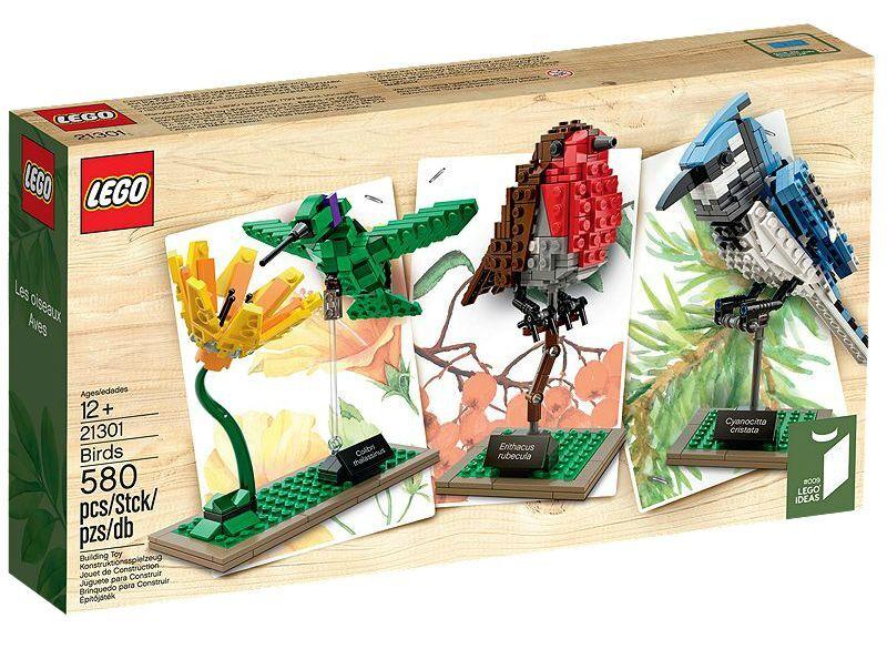 LEGO ® ideas 21301 oiseaux sauvages neuf neuf neuf emballage d'origine _ Birds New MISB NRFB 35235c