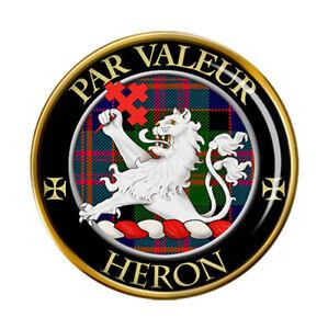 Heron-Clan-Ecossais-Broche-Badge