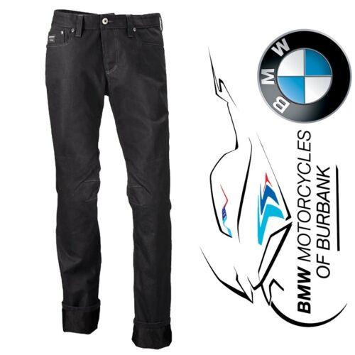 Men/'s Genuine BMW Motorrad Motorcycle FivePocket Black Pants