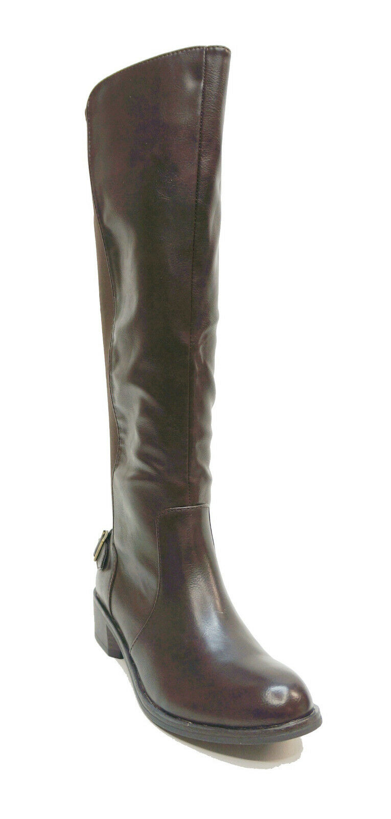 Style&co. Brown Stretch Calf Riding Boots JAYDEN Women's Shoes US 8