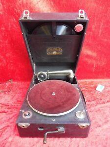 Nice-Old-Gramophone-Koffergrammophon-Columbia