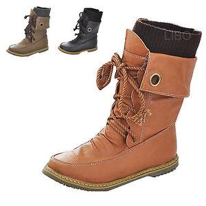 Bottes/Bottines Mode Unisex Cuir Synthétique Chaussures Chaudes Montantes Lacets