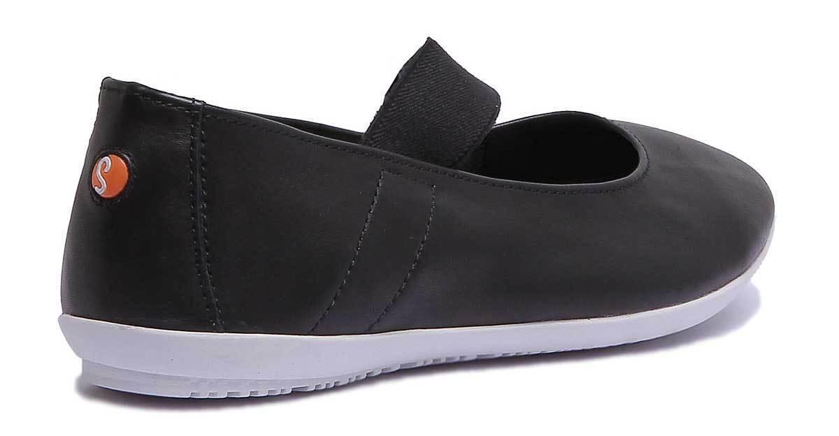 Softinos Ock422Sof Ock422Sof Ock422Sof Womens Black Leather Matt shoes UK Size 3 - 8 93fa24
