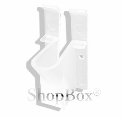 10 pc Vertical clips for VINYL siding for RG6//RG59 coaxial cable