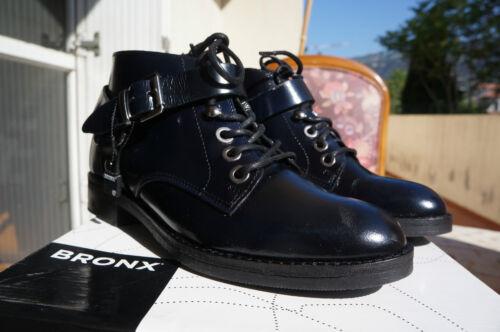blue Eu 44027 36 Boots 2€ Bronx Femme Bleu D70 nXgwFA0