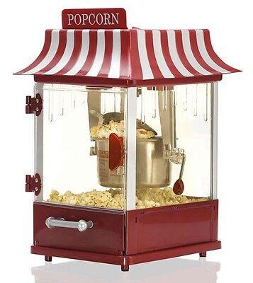 Retro Popcorn-Maschine Popcorn-Maker Melissa 16310148 Popkorn-Automat 300 Watt