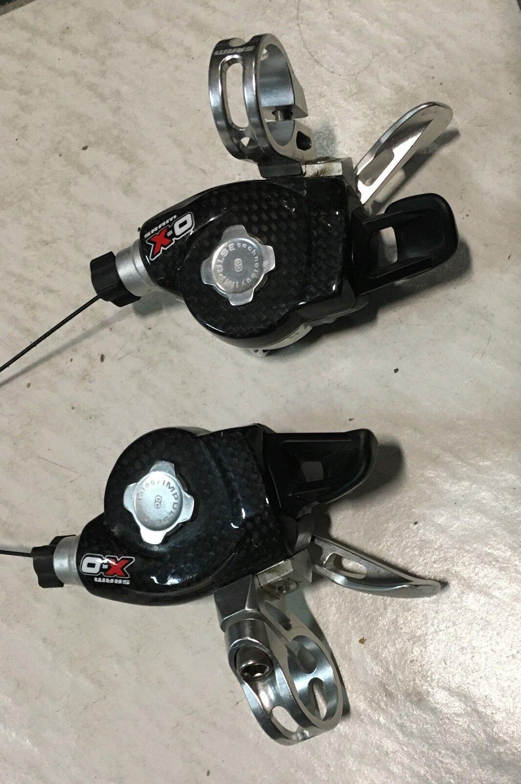 Comandi cambio bici Sram X.0 9x2 trigger post ant mountain bike rf derailleur