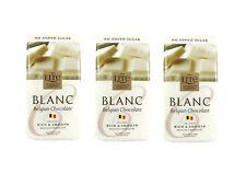 3 x NO ADDED SUGAR Finest Belgian White Chocolate for diabetics 100g bars