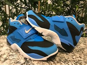 0e0c845f593ce Nike Air Diamond Turf BLACK WOLF GREY-BLUE HERO SKU 309434-008 ...