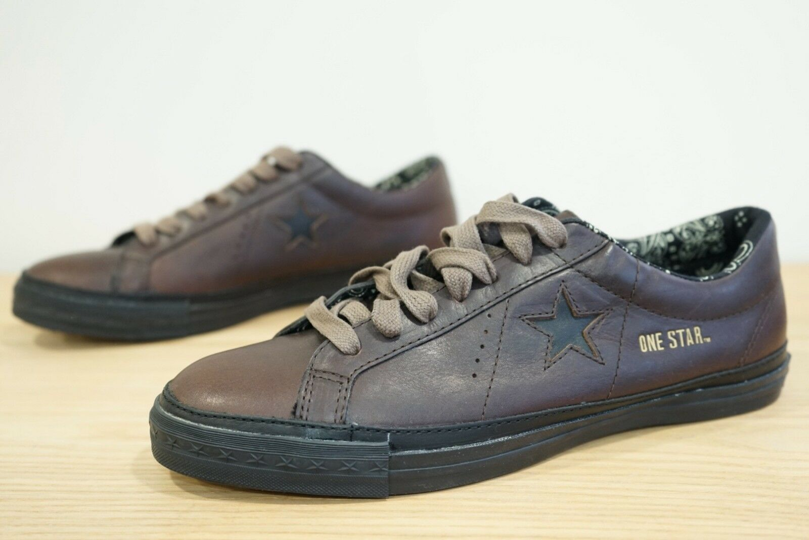 Converse One Star PR Premium Ox Leather 1V943 Trainers Size