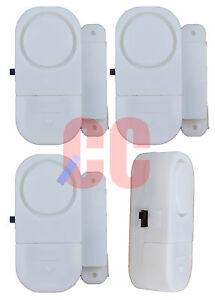 4-piezas-Ventana-y-puerta-Entrada-Alarma-Juego-Alto-Seguridad-Timbre