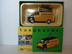 Corgi Va06601 Nouvelles du soir Ford Transit Van Mki Ltd n ° 5196 de 5300