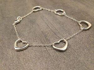 Armband-klein-Herz-Silber-neu-Damen