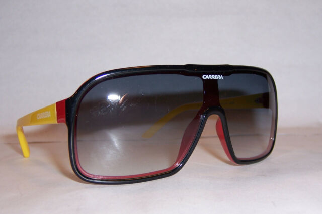 5775ebda8e Carrera 5530 s 03y1 Black Red Yellow Unisex Rectangular Sunglasses ...