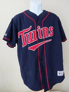 vtg-MINNESOTA-TWINS-16-Jersey-Baseball-MLB-Majestic-Large