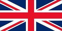 British Flag Photo License Plate