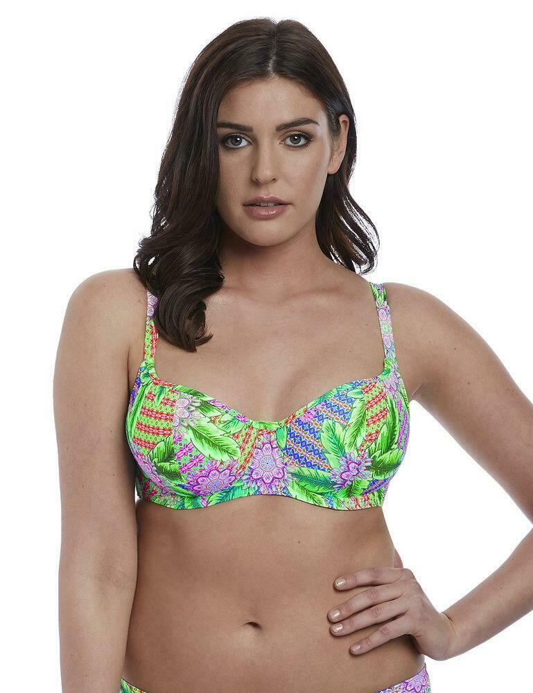 FREYA AS3602 TOOTSIE UNDERWIRE SWEETHEART PADDED BIKINI TOP IN MARINE BLUE