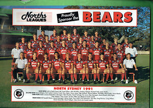 BB3-RUGBY-BIG-LEAGUE-1991-NORTH-SYDNEY-BEARS-TEAM-PINUP