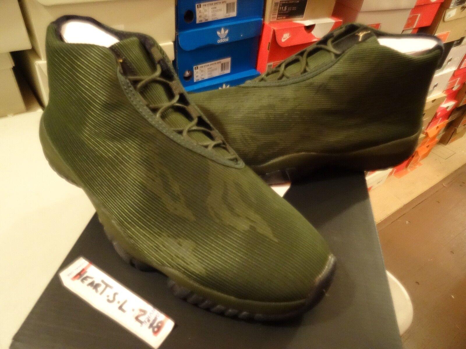 NEW DS Nike Air Jordan Future Sequoia Black-Sequoia Green Camo 656503-301 SZ 12