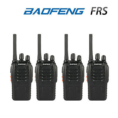 US 6x Baofeng BF-88A Multi Channels 1.5KM Portable Two-way FRS Radio 462//467MHz