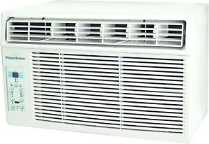 Keystone 6000 BTU 250 sq. ft. Window Air Conditioner with Remote Control