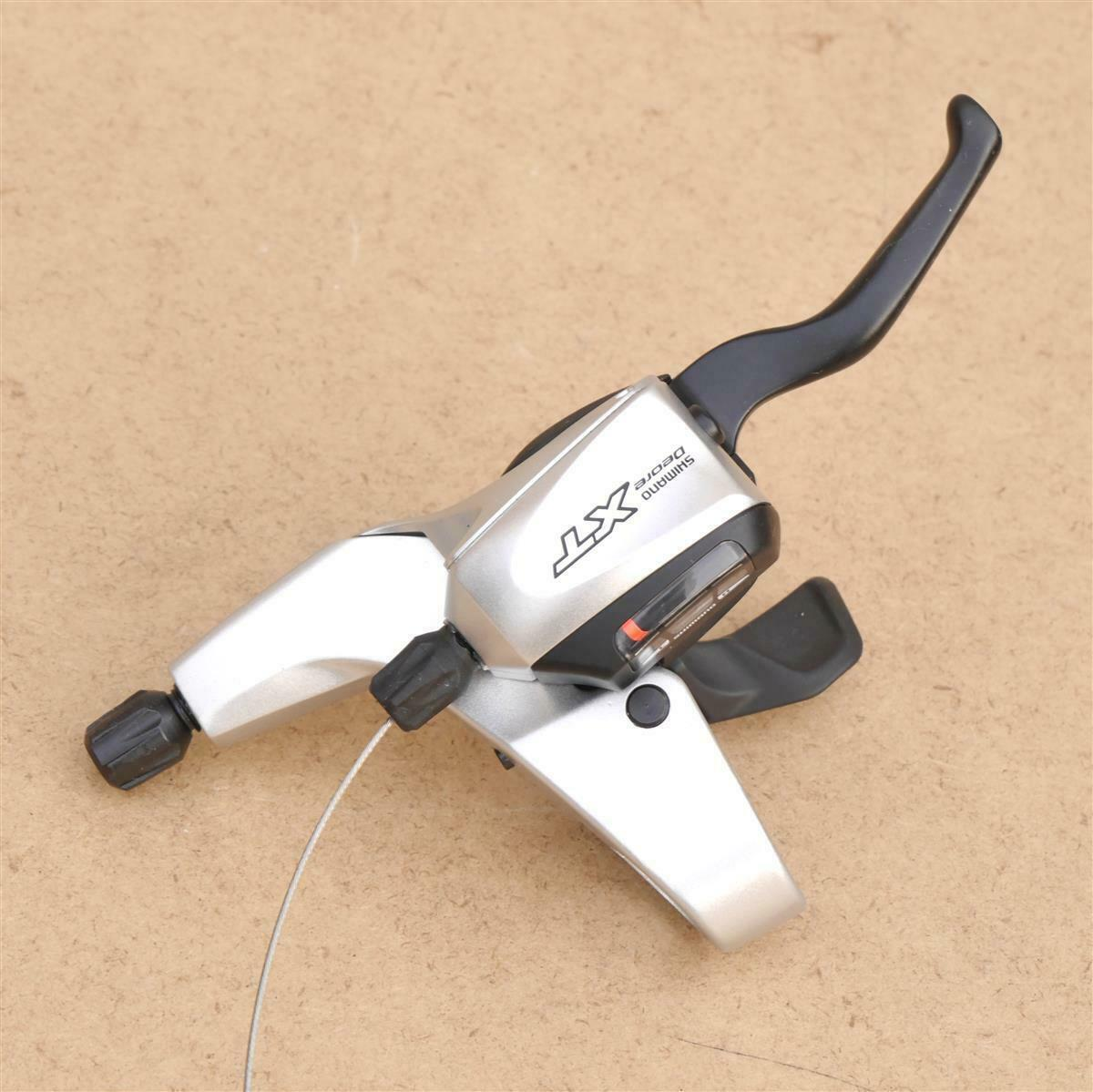 Shimano Deore XT ST-M760 Right 9-speed Brake Lever Shifter Combination Silver
