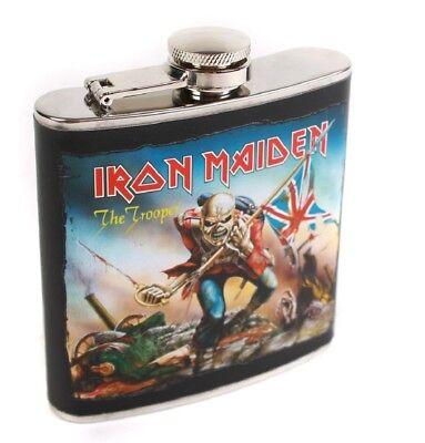 Iron Maiden The Trooper Flachmann Verkaufspreis Kochen & Genießen