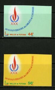 Wallis-et-Futuna-Stamps-221-2-XF-OG-NH-Imperf
