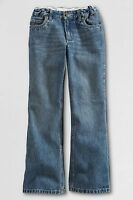 Lands' End Bootcut Denim Jeans Little Girls Size 4
