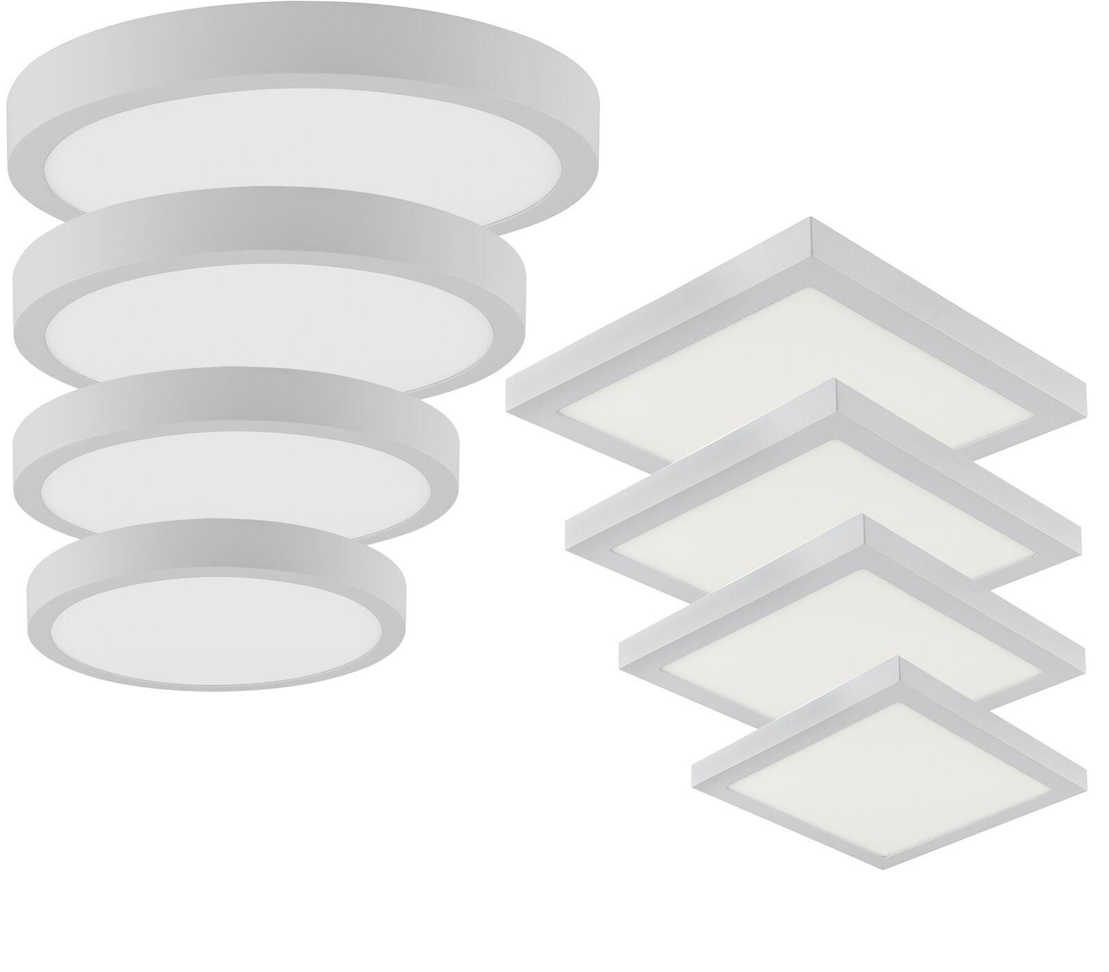 Pannello LED Costruzione Della Parete Lampada Parete Soffitto Tondo Quadrato
