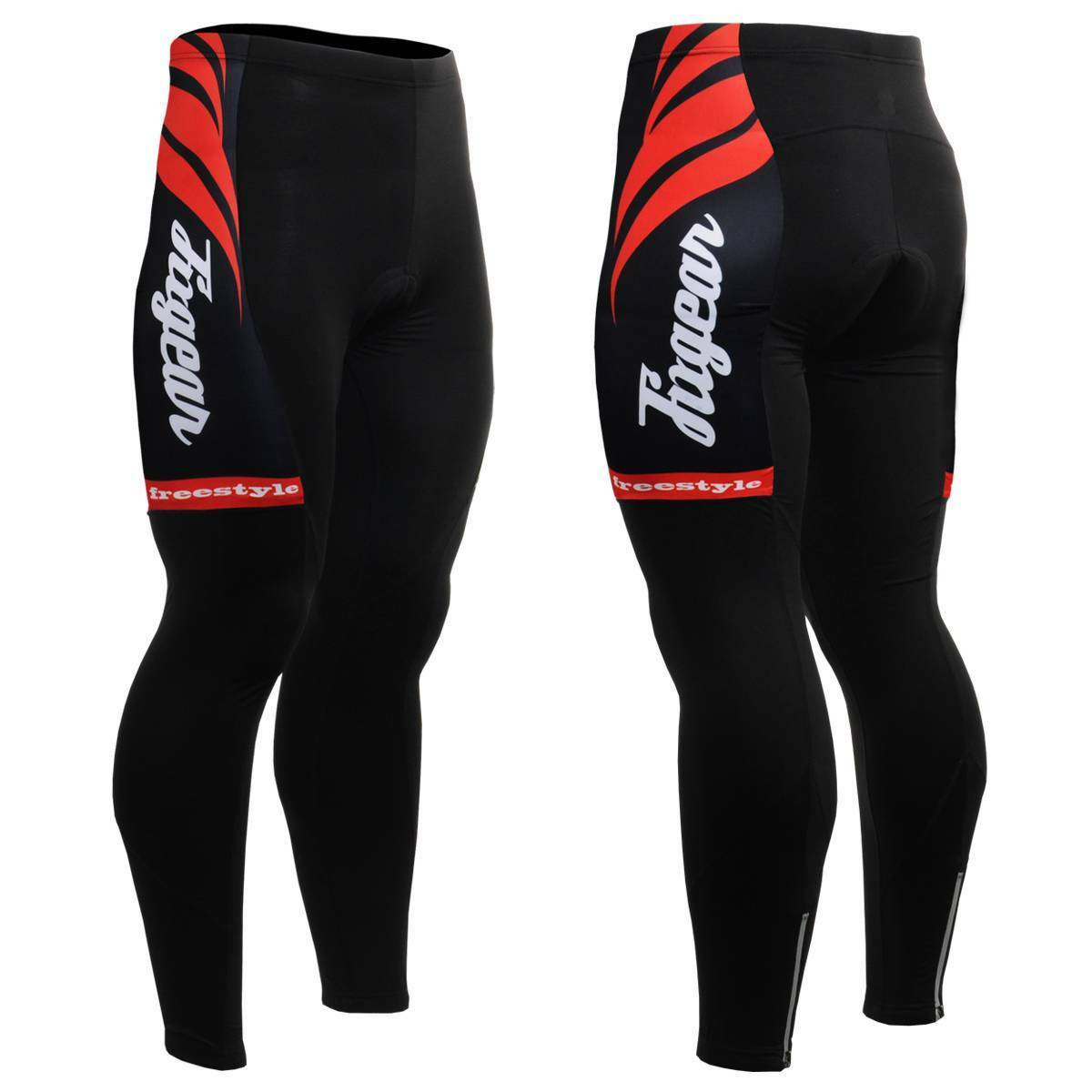 FIXGEAR LT-12 Men's Cycling Padded Tights Road Mountain Bike Wear MTB Bicycle