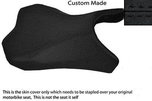 HIGH GRIP BLACK VINYL CUSTOM FITS KAWASAKI Z1000 10-13 FRONT RIDER SEAT COVER