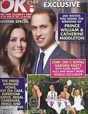OK magazine Prince William Kate Middleton Souvenir special issue Hugh Jackman