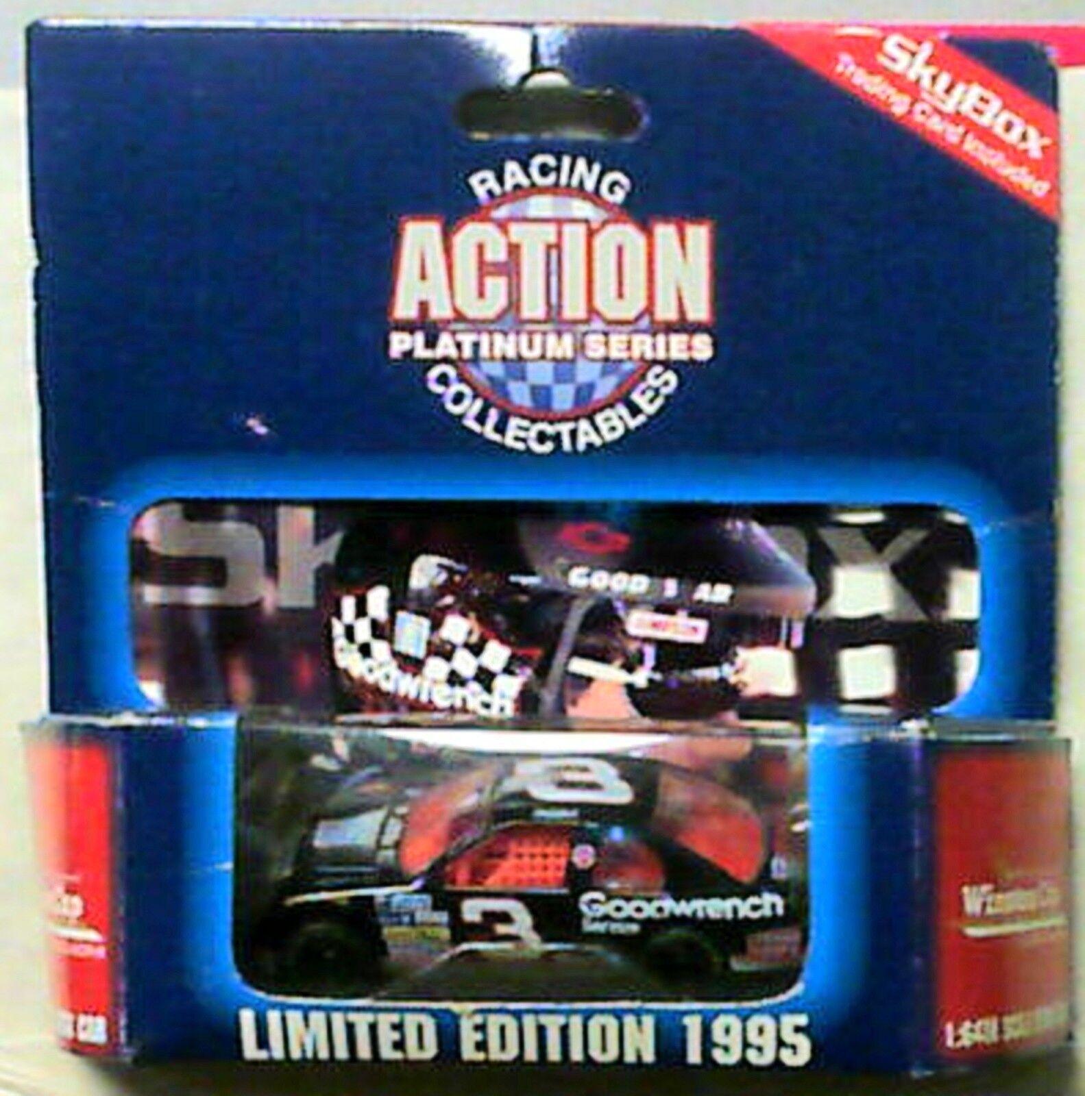 1995 acción 1 64 Dale Earnhardt 7 tiempo campeón Goodwrench  3 limitada agradable  mira