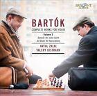 Bart¢k: Complete Works for Violin, Vol. 2 (CD, Jun-2012, Brilliant Classics)