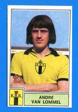 FOOTBALL 1972-73 BELGIO -Panini Figurina-Sticker n. 58 - VAN LOMMEL -BERCHEM-Rec