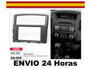 Marco-Adaptador-Kit-Radio-CARAV-08-005-2Din-MITSUBISHI-Pajero-4-Montero-Shogun