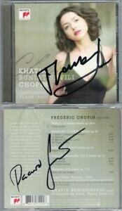 Khatia-buniatishvili-amp-Paavo-as-Jarvi-Signed-Chopin-Piano-Concerto-Sonata-2-Ballad