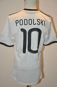 Deutschland-Trikot-10-Lukas-Podolski-Gr-M-Adidas-WM-2010-DFB-Weltmeister-EM