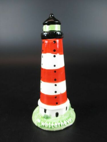Leuchtturm Westerhever,10 cm aus Keramik Glanzoptik Souvenir Modell,Neu
