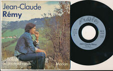 "JEAN-CLAUDE REMY 45 TOURS 7"" MARION (PRODUCTION ADELE PIERRE PERRET)"