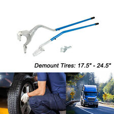 Manual Tire Changer Tire Mount Demount Tool Tubeless Truck 175 To 24 Inch 3 Pcs