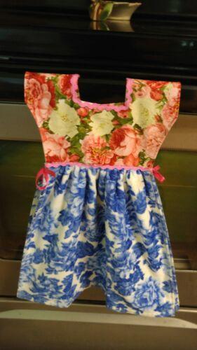 Handmade Pioneer Woman over oven door kitchen blue flower