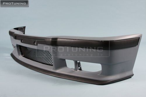 For BMW E36 92-98 OEM FACTORY STYLE M3 FRONT Full BUMPER set W// GRILLE LIP