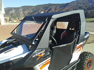 Alumilite armor can am maverick cab enclosure with tip out image is loading alumilite armor can am maverick cab enclosure with sciox Images